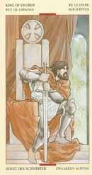 zwaarden koning tarot